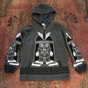 Oversize Inca Warrior Sweater